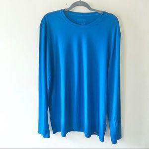 Patagonia Capilene Baselayer blue long sleeve